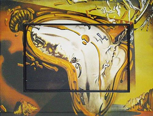 《名画》ビッグアート 名画ハイグロスシリーズ ダリ 「柔らかい時計」