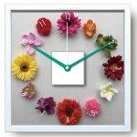 《時計》Design Clock Hana tokei(デザイン クロック はなとけい)