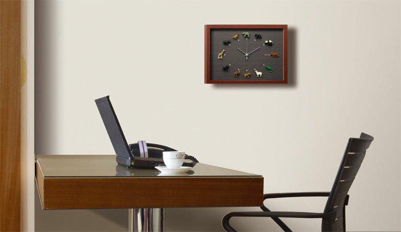 《時計》Design Clock Wildlife 1(デザイン クロック ワイルドライフ(野生動物))