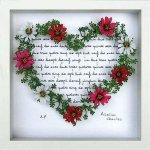 《フラワーフレーム》Heart Series Grass Heart 2(ハート シリーズ グラス ハート)