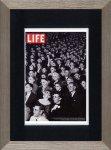 《アートフレーム》LIFE ライフ スリーディー ムービー ビューワーズ(3D映画を見る人たち)(ゆうパケット)