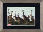 《アートフレーム》LIFE Giraffes(ライフ ジラフズ(キリン))(ゆうパケット)