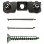 《壁掛けフック》Hook series Teeth hanger(1pcs set)(フック シリーズ ティース ハンガー 1個セット)
