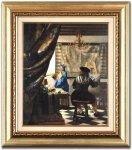 《本格復刻画・名画》絵画芸術(額付き)スタンダード版 フェルメール