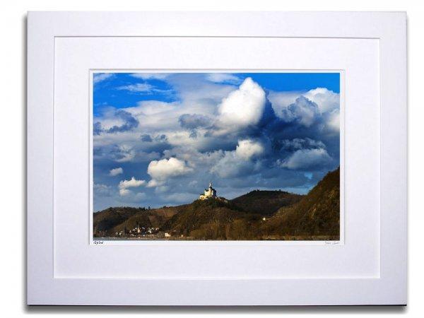 《アートフォトフレーム》マルクスブルグ城(Castle Marxburg)〔ドイツ写真家/ガビー・ゾマー〕