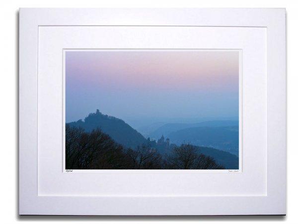 《アートフォトフレーム》ドラッフェンフェルス城1(Drachenfels I)〔ドイツ写真家/ガビー・ゾマー〕