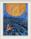 《アートフレーム》リサとガスパール アートフレーム Lサイズ 気球