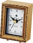 《時計》アンティーク スタイル クロック スクエア(ゴールド)