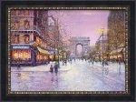 《絵画》ギィ デサップ 冬の凱旋門