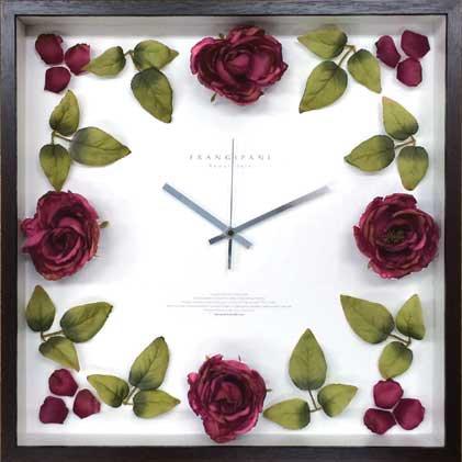 《時計》ローズ クロック クラシック ピンク