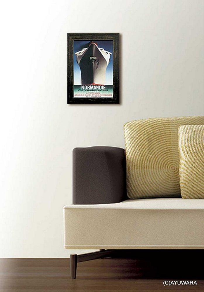 《アートフレーム》イタリアン ビンテージ ポスター cane