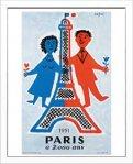 《アートフレーム》サビニャック Paris a 2000 ans