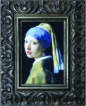 《名画》 フェルメール 真珠の耳飾りの少女 (Famous Artist Mini Vermeer Girl with a Pearl Earring)