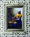 《名画》 フェルメール 牛乳を注ぐ女 (Famous Artist Mini Vermeer Das Michmadchen)(ゆうパケット)