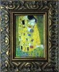 《名画》 クリムト 接吻 (せっぷん) (Famous Artist Mini Klimt The Kiss)(ゆうパケット)