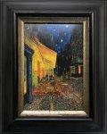 《名画》 ゴッホ 夜のカフェテラス (Famous Artist Mini Gogh Cafe at Night)(ゆうパケット)