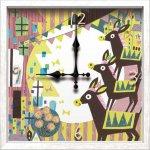《時計》アーティストクロック seesaw シーソー