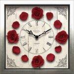 《時計》クラシック ローズ クロック Red レッド