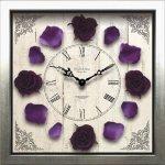 《時計》クラシック ローズ クロック Purple パープル