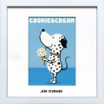 《アートフレーム》【ゆうパケット】市原 淳 Cookie&Cream クッキー&クリーム
