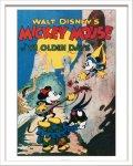 《Disneyポスター》ビンテージ ディズニー シリーズ Mickey Mouse 1 ミッキーマウス1