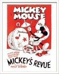 《Disneyポスター》ビンテージ ディズニー シリーズ Mickey Mouse 2 ミッキーマウス2