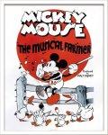 《Disneyポスター》ビンテージ ディズニー シリーズ Mickey Mouse 3 ミッキーマウス3