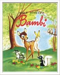 《Disneyポスター》ビンテージ ディズニー シリーズ Bambi 1 バンビ
