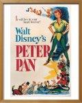 《Disneyポスター》ビンテージ ディズニー シリーズ Peterpan ピーターパン