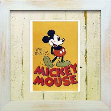 《Disneyフレーム》【ゆうパケット】ビンテージ ディズニー シリーズ Mickey Mouse 1 ミッキーマウス1