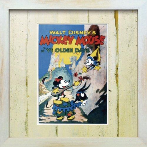 《Disneyフレーム》【ゆうパケット】ビンテージ ディズニー シリーズ Mickey Mouse 3 ミッキーマウス3