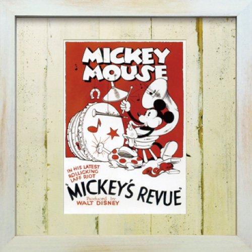 《Disneyフレーム》【ゆうパケット】ビンテージ ディズニー シリーズ Mickey Mouse 4 ミッキーマウス4