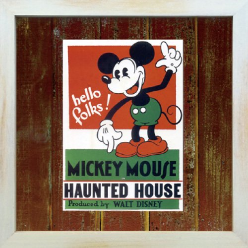 《Disneyフレーム》【ゆうパケット】ビンテージ ディズニー シリーズ Mickey Mouse 5 ミッキーマウス5