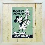 《Disneyフレーム》【ゆうパケット】ビンテージ ディズニー シリーズ Mickey Mouse 6 ミッキーマウス6