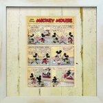《Disneyフレーム》【ゆうパケット】ビンテージ ディズニー シリーズ Mickey Mouse 7 ミッキーマウス7