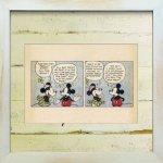 《Disneyフレーム》【ゆうパケット】ビンテージ ディズニー シリーズ Mickey Mouse 8 ミッキーマウス8