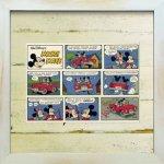 《Disneyフレーム》【ゆうパケット】ビンテージ ディズニー シリーズ Mickey Mouse 10 ミッキーマウス10