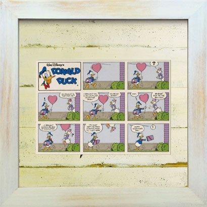 《Disneyフレーム》【ゆうパケット】ビンテージ ディズニー シリーズ Donald Duck 1 ドナルド ダック1