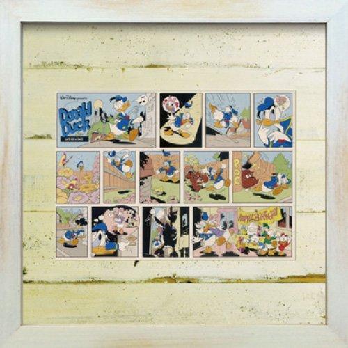 《Disneyフレーム》【ゆうパケット】ビンテージ ディズニー シリーズ Donald Duck 2 ドナルド ダック2