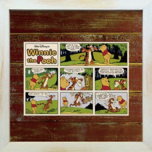 《Disneyフレーム》【ゆうパケット】ビンテージ ディズニー シリーズ Winnie the Pooh ウィニー・ザ・プー1