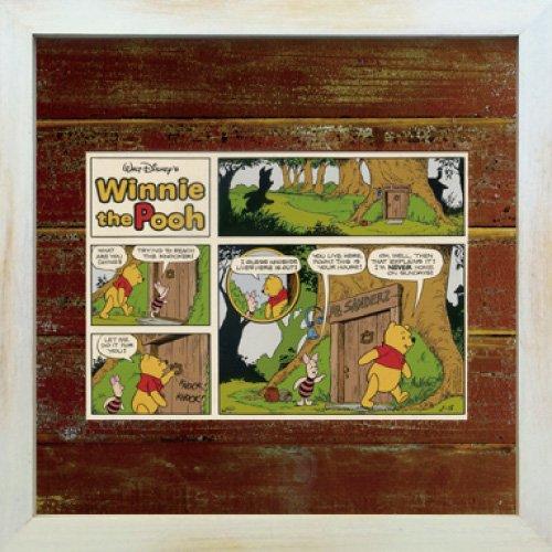 《Disneyフレーム》【ゆうパケット】ビンテージ ディズニー シリーズ Winnie the Pooh ウィニー・ザ・プー2