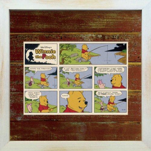 《Disneyフレーム》【ゆうパケット】ビンテージ ディズニー シリーズ Winnie the Pooh ウィニー・ザ・プー3