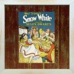 《Disneyフレーム》【ゆうパケット】ビンテージ ディズニー シリーズ Snow White 1 白雪姫1
