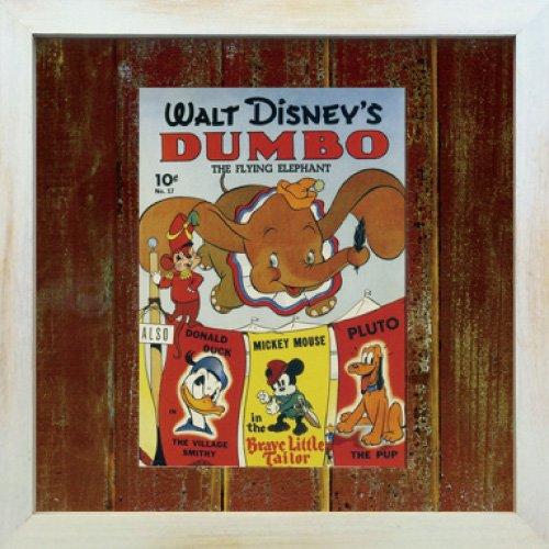 《Disneyフレーム》【ゆうパケット】ビンテージ ディズニー シリーズ Dumbo ダンボ