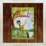 《Disneyフレーム》【ゆうパケット】ビンテージ ディズニー シリーズ Bambi 1 バンビ1