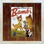 《Disneyフレーム》【ゆうパケット】ビンテージ ディズニー シリーズ Bambi 2 バンビ2