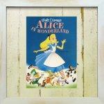 《Disneyフレーム》【ゆうパケット】ビンテージ ディズニー シリーズ ふしぎの国のアリス