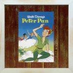 《Disneyフレーム》【ゆうパケット】ビンテージ ディズニー シリーズ Peter Pan ピーターパン
