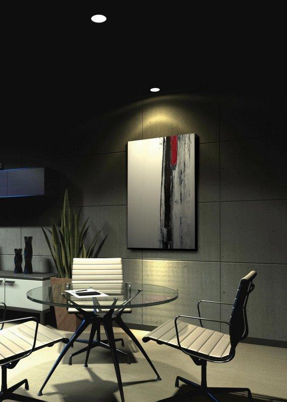 《アートパネル》T30 Galler  ブラウンとベージュのアートペイント