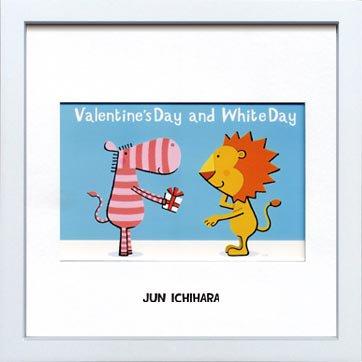 《アートフレーム》【ゆうパケット】市原 淳 Valentine'sDay-and-WhiteDayバレンタインデー&ホワイトデー